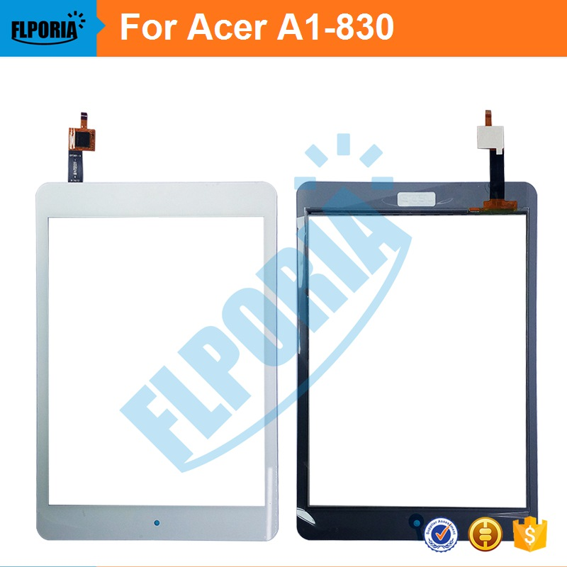 For Acer A1-830 Touch Screen Digitizer 7.9 Inch Front Tablet Touch Panel Glass Replacement parts 100% New