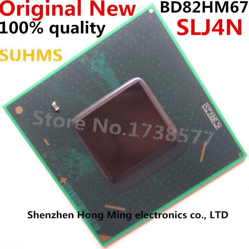 100% New BD82HM67 SLJ4N BGA Chipset