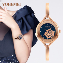 YOHEMEI Women Clock Relojes Women's Bracelet Watches Fashion Quartz Ladies Watch Relogio Feminino Montre Femme Reloj Mujer 0168