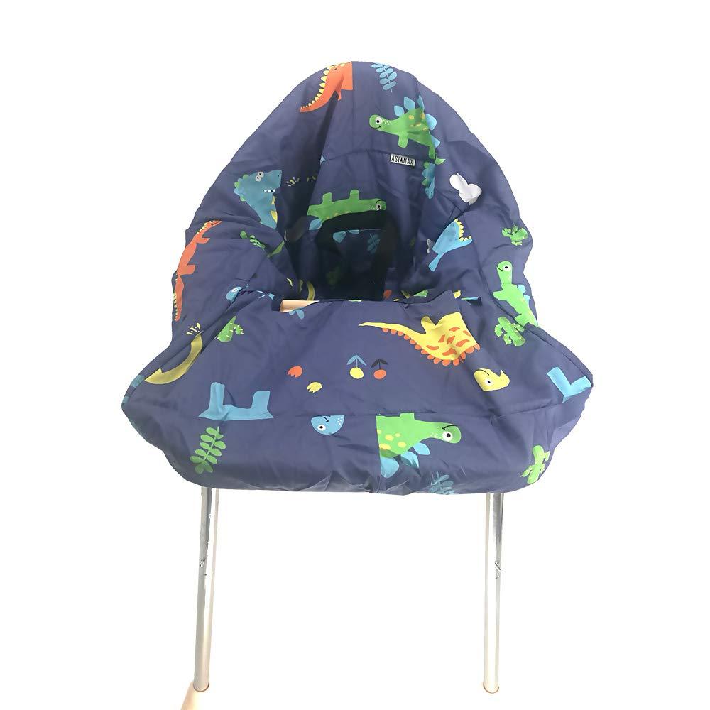 Переносная корзина для покупок, чехлы для стульев и продуктовых корзин для младенцев, детей, младенцев и малышей ✮ включает сумку для переноски