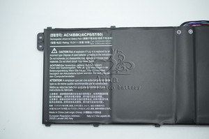 Image 4 - JIGU nowy oryginalny 15.2V 48Wh baterii laptopa dla Acer Aspire V3 V3 371 V3 371 30FA AC14B8K
