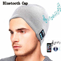 Высокая qualiy Мягкий Теплый Шапочка Шляпу Wireless небольшой Bluetooth Смарт Крышка Гарнитура Для Наушников Динамик Микрофон удобные Bluetooth Hat