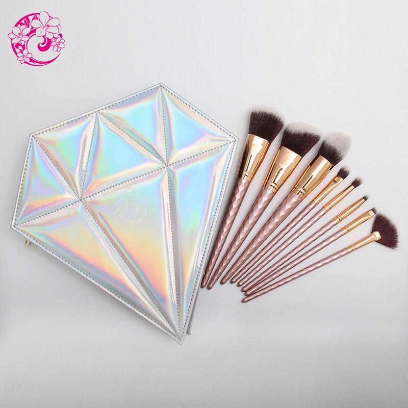 Tesoura de Maquiagem bolsa de diamantes brochas maquiagem Material da Escova : Nylon