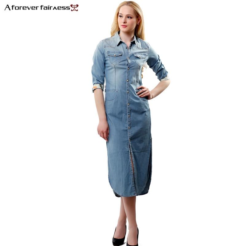Model Womens Denim Shirt Dress With Original Pictures U2013 Playzoa.com