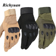 Touchscreen Motorcycle Skidproof Hard Knuckle Full Finger Gloves Protective Gear for Outdoor Sports Racing Motocross ATV цена