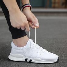 Дышащие кроссовки для мужчин; черно-белая спортивная обувь; мужские кроссовки; Zapatos Corrientes De Verano; Цвет Красный; chaussure homme De Marque