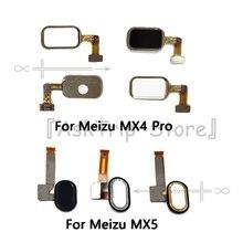 Для Meizu MX4 MX5 Pro Оригинал Главная Key отпечатков пальцев Кнопка возврата Touch ID шлейф датчика Flex кабель мобильного телефона ремонт Запчасти