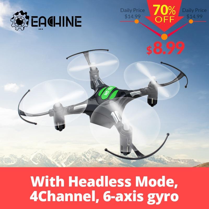 Eachine H8 Mini Kopflose RC Hubschrauber Modus 2,4g 4CH 6 Achse Quadcopter RTF Fernbedienung Spielzeug