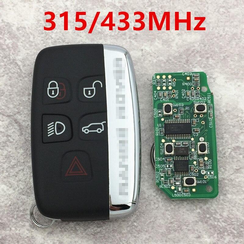 Prix pour À distance Clé Carte À Puce pour la Terre et Range Rover Evoque Découverte 315 MHz et 433 MHz