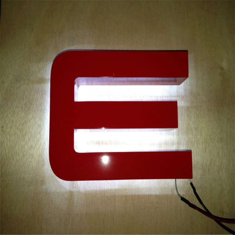 Online buy wholesale backlit channel letters from china for Cheap channel letter signs