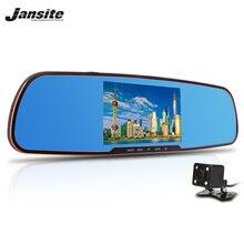 2017 Newest 5.0″ Car Camera Review Mirror Dvr With LDWS ADAS Detector Digital Video Recorder Dual Lens FHD1080P car dvrs Dashcam