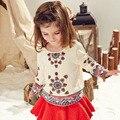 Children Long Sleeved Girls Shirt Korean Kids' Clothing Autumn T-shirt