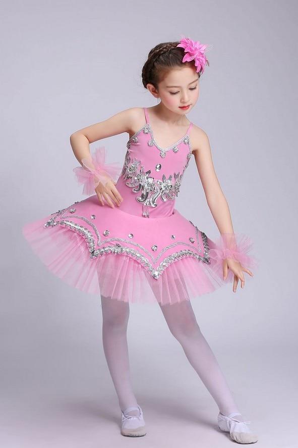 acde958899ef gymnastics leotards Kids Baby Dance Dress Candy Color Tutu Dress ...