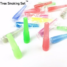 2bags 100pcs/bag 53mm Medium Shisha Hookah Mouth Tip Filters Disposable Colorful MOUTH TIPS For Hose Pipe