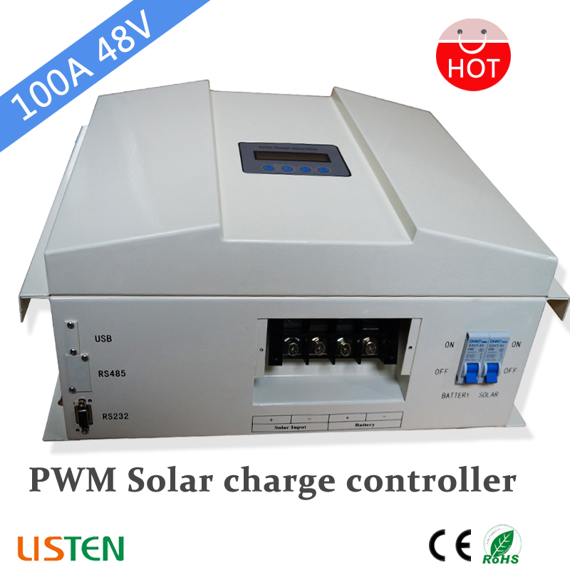 48v 100amp PWM Solar Charge Controller with CE RoHs and Factory sales48v 100amp PWM Solar Charge Controller with CE RoHs and Factory sales
