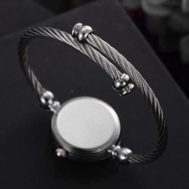 Lvpai Elegant Ladies Bracelet Watch Women New Arrival Silver Strap Simple Design Casual Wrist Quartz Watch female 2018