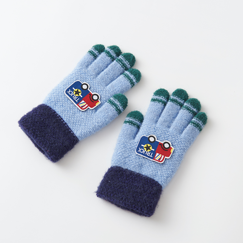Handsome Children Winter Gloves Hand Warmer Gloves Winter Mittens Kids A Great Gift For Children C5332