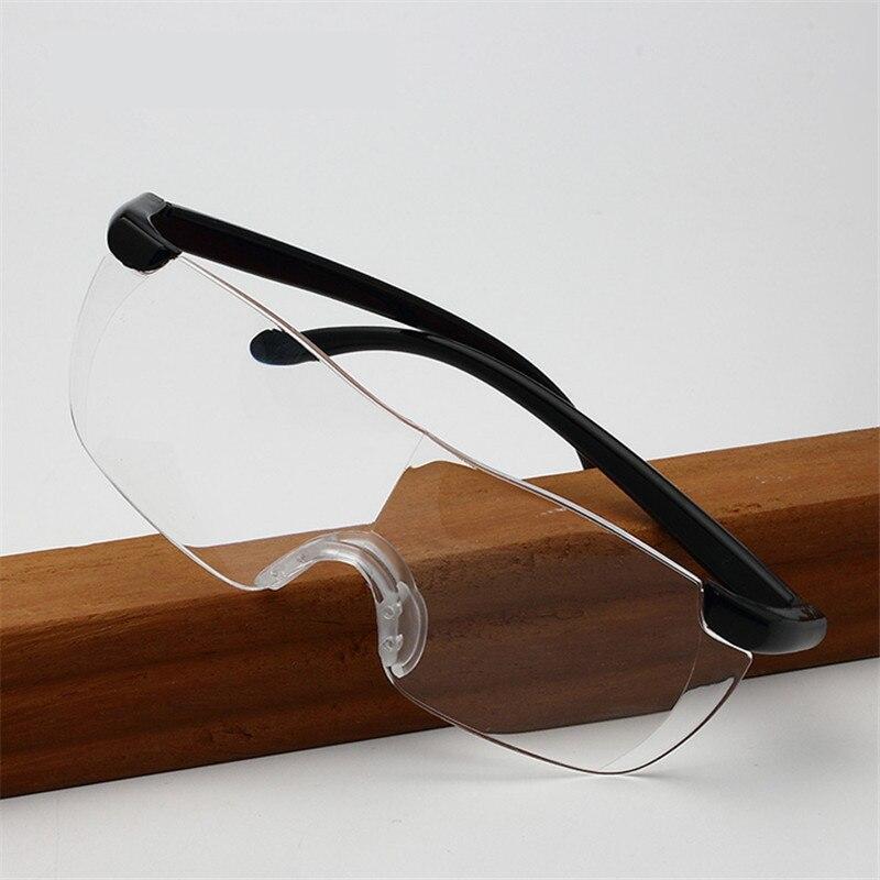 2019 Neuestes Design Kaleidoskop Gläser Männer Frauen Lesebrille Rahmenlose Lupe 1,6 Mal Lesebrillen 250 Grad Vergrößert Brillen Presbyopie Erfrischend Und Wohltuend FüR Die Augen