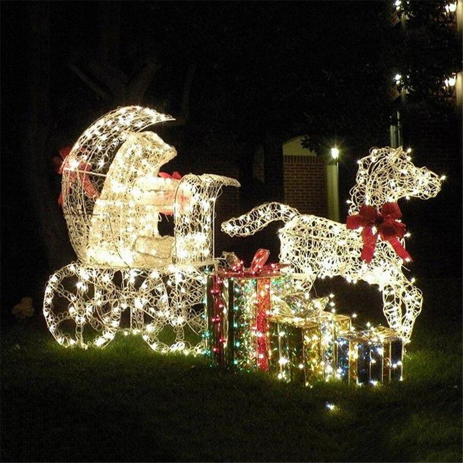 Fairy Lights Outdoor Garden Part - 48: 12M 22M 40M Solar Garden String Light Outdoor Garland Fairy Light String  Christmas Tree String Lights Garden Patio Lantern Light-in Solar Lamps From  Lights ...