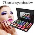 Профессиональный 78 Цвет Макияжа Тени Для Век Палитра Теней для век макияж Косметика Палитра Теней Для Век