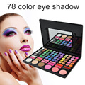 Professional 78 Color Eyeshadow Palette Maquiagem Sombra Eye Make up Da Paleta Da Sombra de Cosméticos