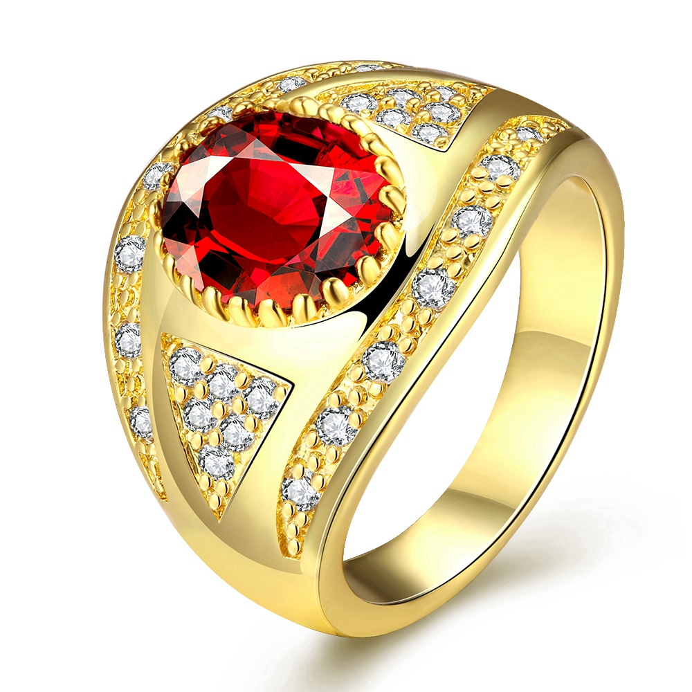 wedding online get cheap ruby ring sale aliexpress com alibaba group - Orange Camo Wedding Rings