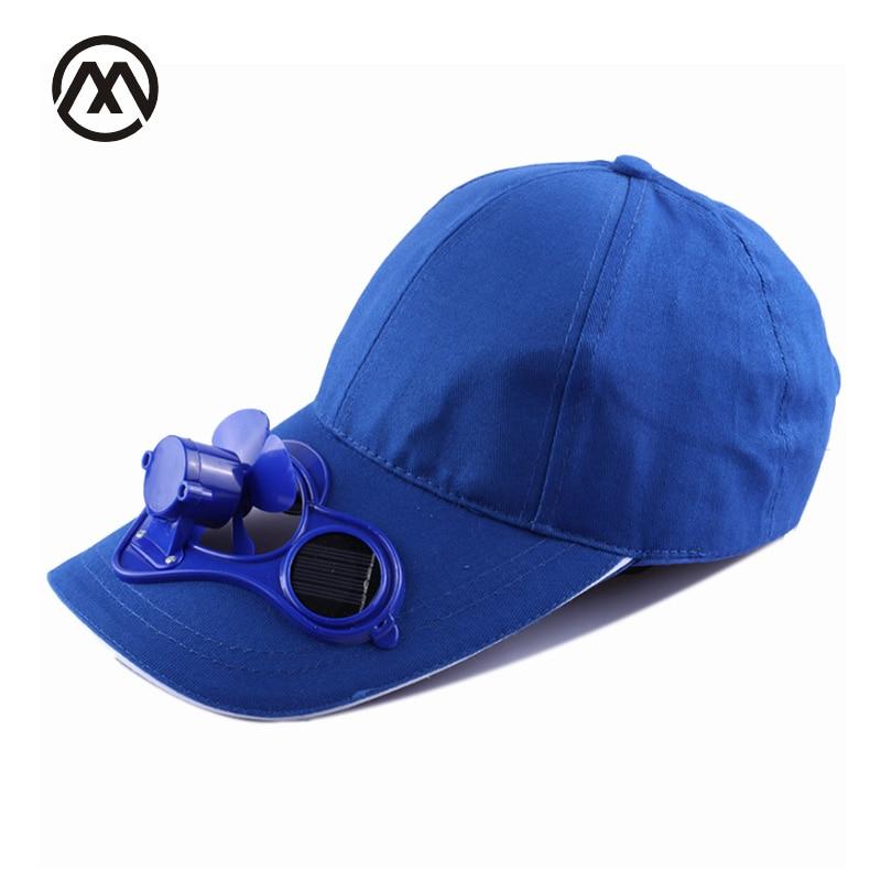 قبعة مع مروحة الطاقة الشمسية لوحة مروحة سنببك قبعة بيسبول الهيب هوب قبعة snapback الرجال النساء سنببك gorros قبعة الشاطئ الشمس قناع العظام