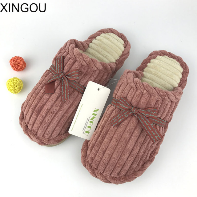 05eb70ede93 2018 new home slippers indoor floor slippers home lovers slipper anti-skid  slippers and chinela thick soled baboosh
