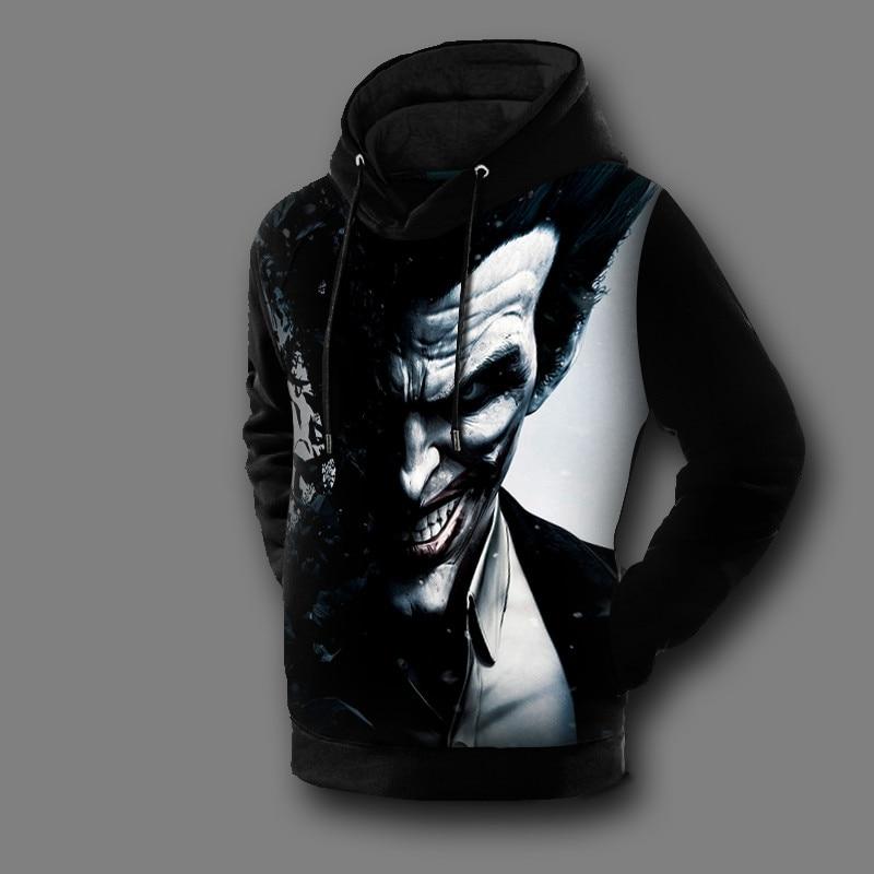 Nouveauté Hoodies Hommes The Joker Suicide Manteau Femmes Occasionnel Imprimé 2017 Sweat xhtwcy Batman Nouveau 3d Pull Arrivent 1St6Bqw7xn