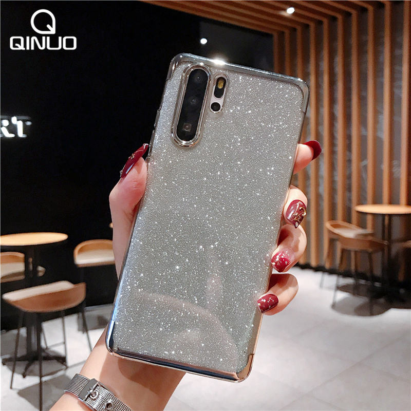 Luxury Bling Glitter Phone Case For Huawei Honor 7A 7X 8 8X 8A Max 9 9i 10i 20i V 10 Lite 20 Pro Play Soft Silicone Sequin Cover