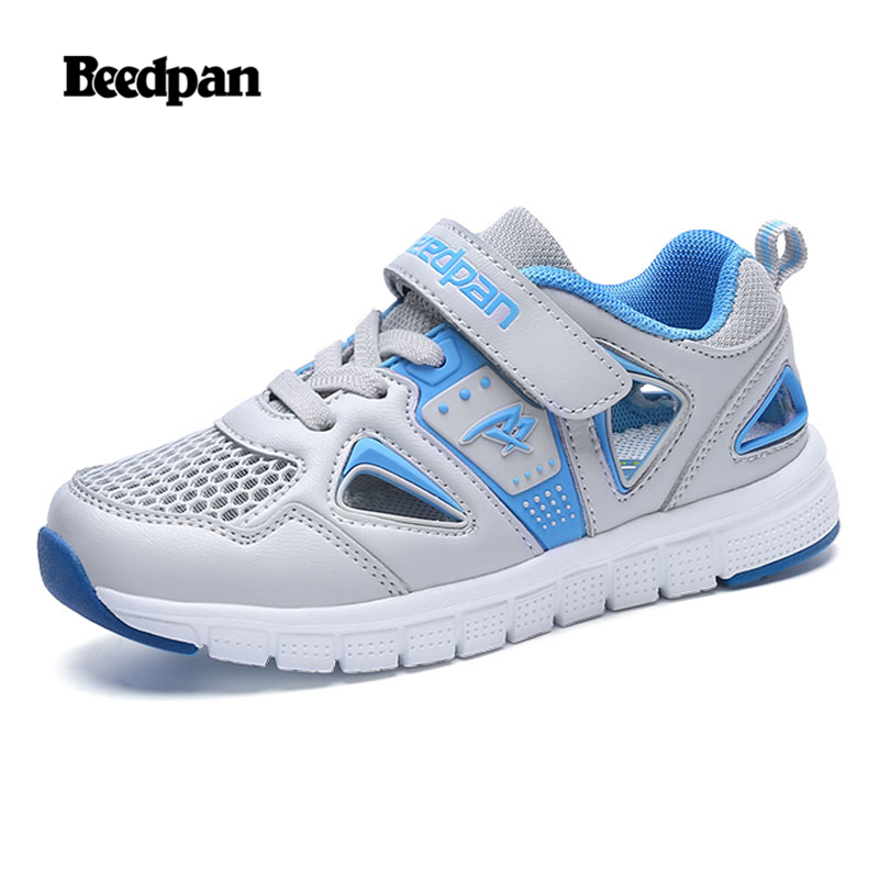 BEEDPAN Summer Boys Sandals Breathable Mesh Cut-outs Kids Sandals Outdoor Sport Water Quick-dry Beach Children Shoe Fashion 2018