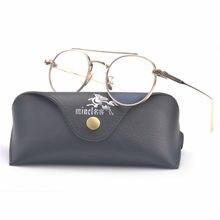 ab220b2ed1cf3 Retro Redonda Pequena Óculos De Sol Dos Homens do Sexo Masculino óculos de  Sol Retro Mulheres Óculos Óculos limpar lens óculos d.