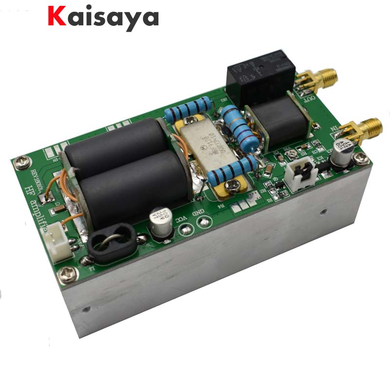 new MINIPA DIY KITS 100W SSB linear HF Power Amplifier For YAESU FT-817 KX3 heastink cw AM FM C4-005 2017 new 40w 1 5mhz 30mhz shortwave broadband linear power amplifier ssb cw am fm for ft817 ic703 ham qrp