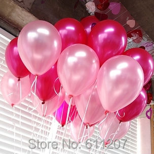 10inch 1.5g Latex Balloons Helium Thickening Pearl balloons Wedding Party Birthd