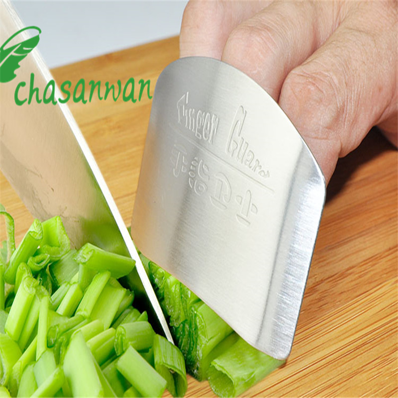 New Stainless SteelFinger Protector Guard Safe Slice Kitchen Accessories Cooking Tools Kitchen Gadgets Kitchen Goods.L