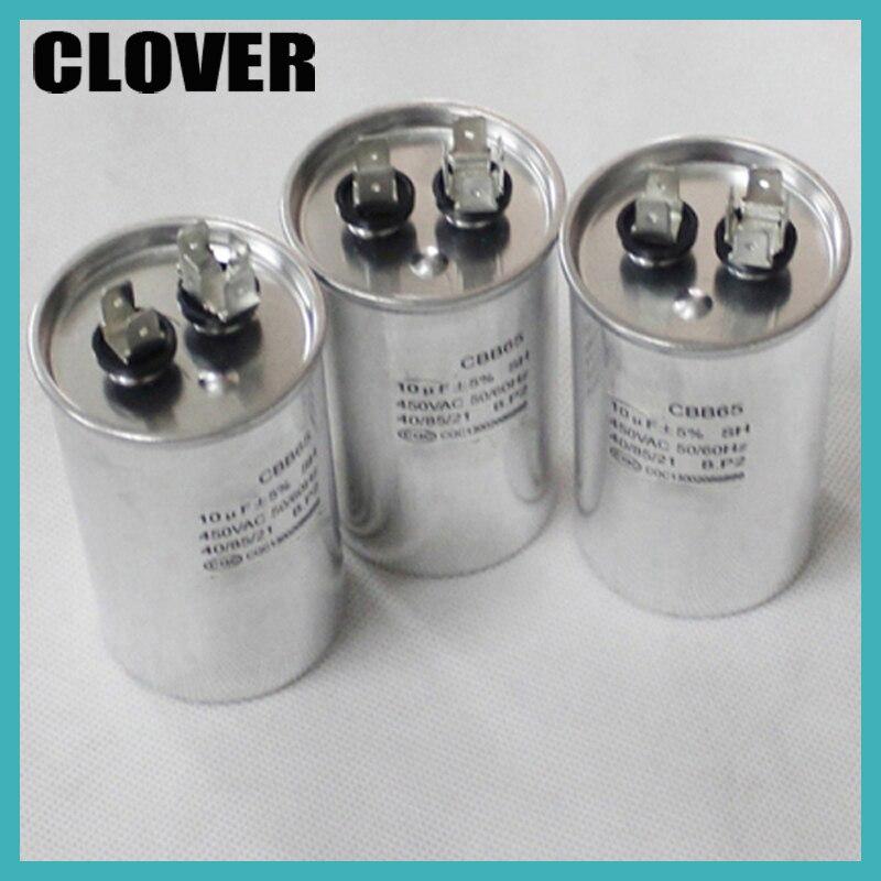Cbb65 10uf Capacitor Air Conditioner 450v-in Ac Motor