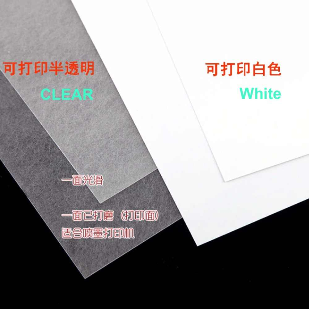 image about Printable Shrink Plastic known as 15computers printable warmth shrink paper A4 dimension inkjet printer shrink plastic sheet