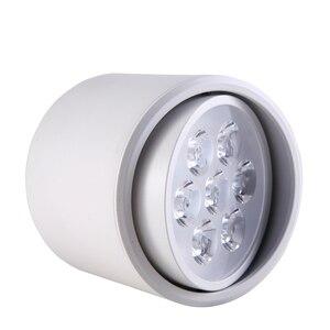 Image 3 - 3W5W7W9W12W Dimbare Led Downlighters Zwart Oppervlak Gemonteerde Led Plafond Lampen Spot Light Keuken Rotatie Down Light AC85 265V