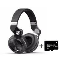 Wireless Headphone Bluedio T2 Plus MP3 Player FM Radio Bluetooth Headset with MIC 3.5MM Connector
