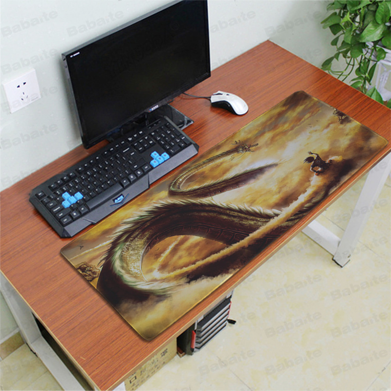 Babaite Vintage Cool Dragon Ball Durable Rubber Mouse Mat Pad Free Shipping Large Mouse Pad Keyboards Mat in Mouse Pads from Computer Office
