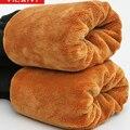 Calças de maternidade Inverno legging maternidade além de veludo espessamento calças barriga maternidade calças calças quentes roupas de maternidade