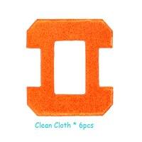 Robot Window Cleaner Cloth 6pcs Per Set For Model X6