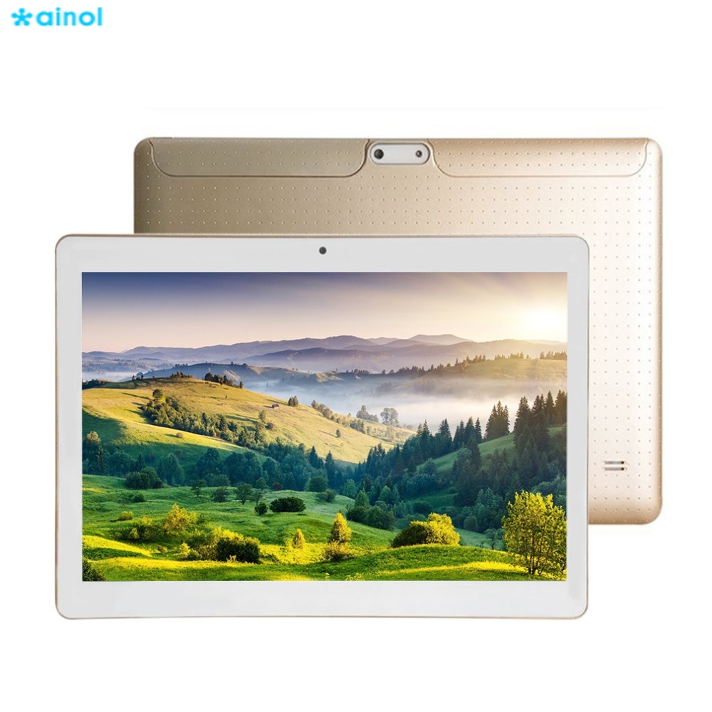 Ainol 3G Phone Call 10.1 inch HD IPS Tablet PC Android 6.0 Quad Core 800*1280 IPS 4500 mAh 16G ROM OTG Bluetooth Tablets GPS стоимость