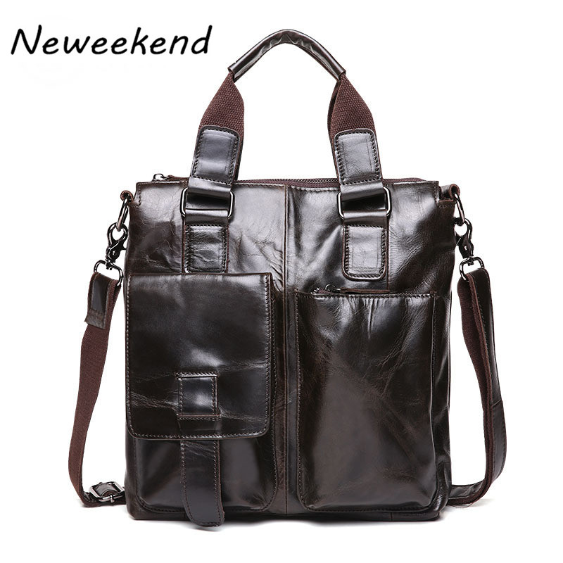 цена Genuine Leather Men Bags Hot Sale Male Small Messenger Bag Man Fashion Crossbody Shoulder Bag Men's Travel New Bags