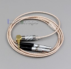 LN006368 Hi-Res Silver Plated XLR 3.5mm 2.5mm 4.4mm Earphone Cable For Ultrasone Jubilee 25E dition ED8EX ED15