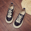 2017 WOMEN CASUAL SHOES SOFT COMFORTABLE  LACE-UP RETRO FEMALE FASHION SHOES SIZE 35-40
