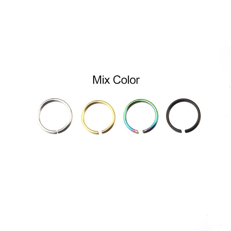 Conjuntos de venta 4pcs Snug Rook Daith Tragus Lobe Helix Piercing - Bisutería - foto 4
