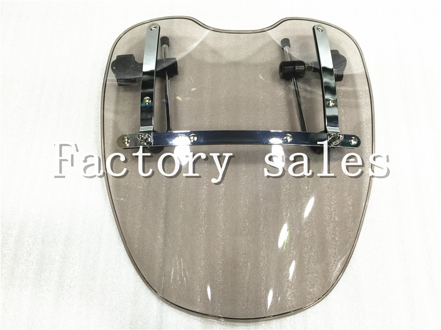 купить Free Shipping Brand New Motorcycle Windshield Windscreen for Harley Davidson Sportster Dyna Glide Softail XL 883 1200 xl по цене 3010.25 рублей