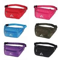 Outdoor Foldable Waist Fanny Pack Bag For Women Men Money Belt Waist Bag Pouch With Strap Waterproof Running Waist Pack