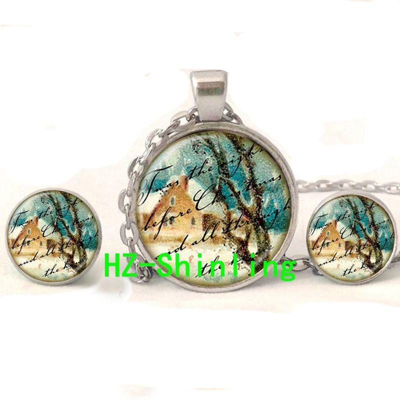 Mosaic Sterling Silver Inlay Framed Desert Scene Earrings ...